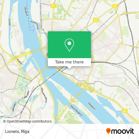 Lionets map