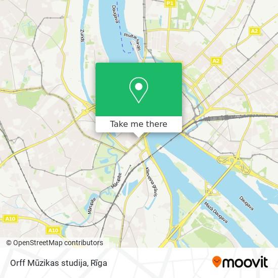 Orff Mūzikas studija map