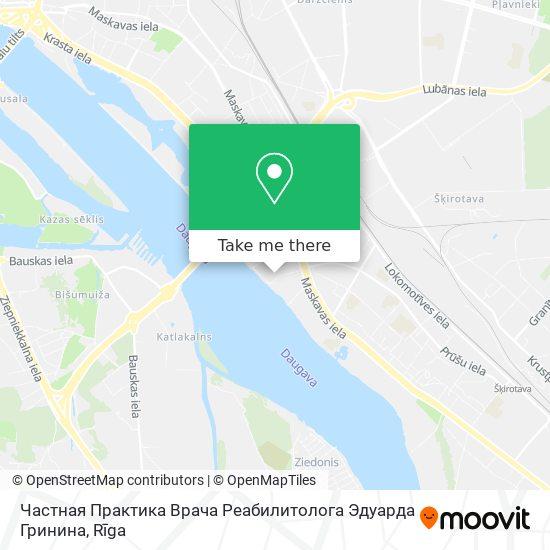 Частная Практика Врача Реабилитолога Эдуарда Гринина map