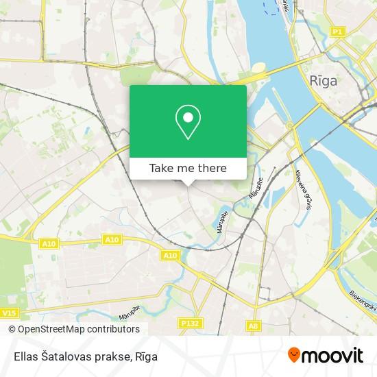 Ellas Šatalovas prakse map