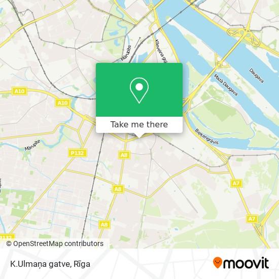 K.Ulmaņa gatve map