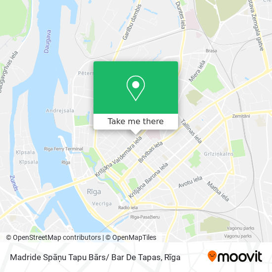 Madride Spāņu Tapu Bārs/ Bar De Tapas map