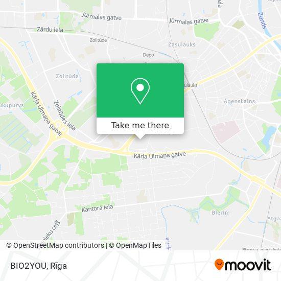 BIO2YOU map