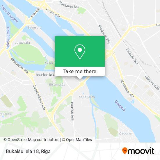 Bukaišu iela 18 map