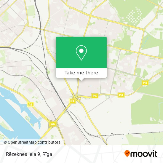 Rēzeknes iela 9 map