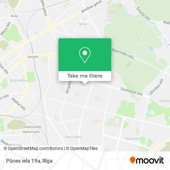 Pūces iela 19a map