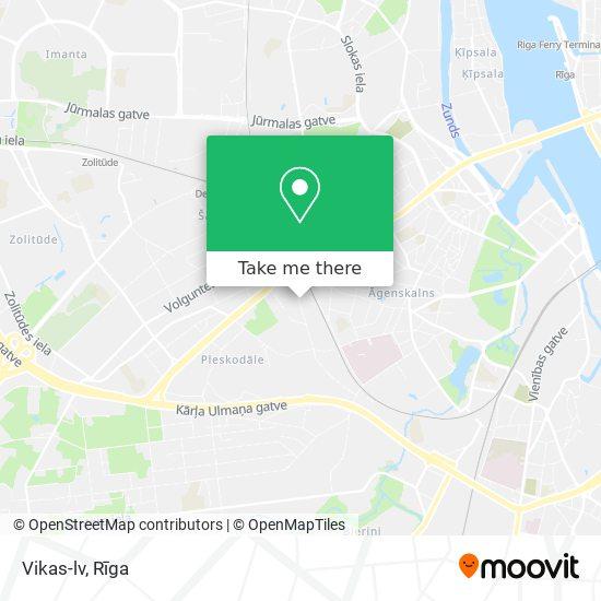 Vikas-lv map