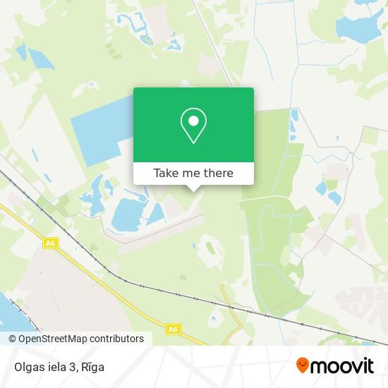 Olgas iela 3 map