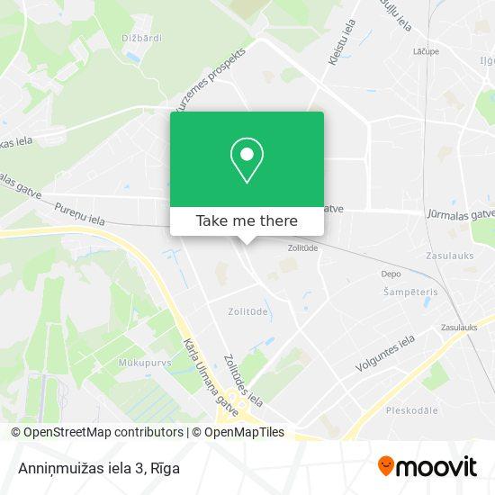Anniņmuižas iela 3 map