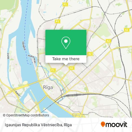 Igaunijas Republika Vēstniecība map