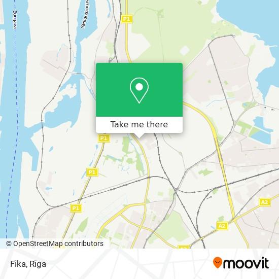 Fika map