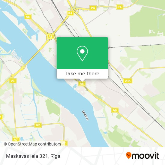 Maskavas iela 321 map
