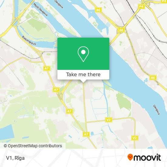 V1 map