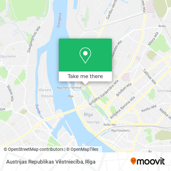 Austrijas Republikas Vēstniecība map