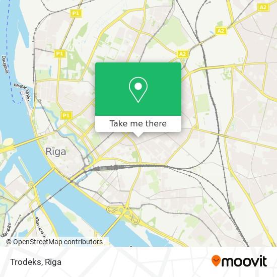 Trodeks map