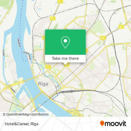 Hotel&Career map