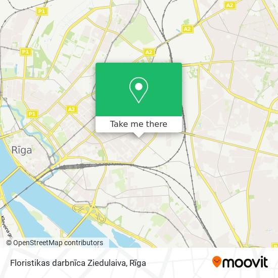 Floristikas darbnīca Ziedulaiva map