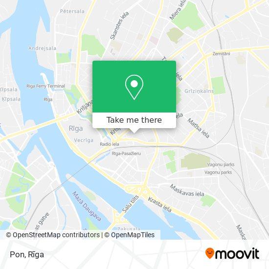 Pon map