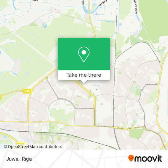 Juwel map