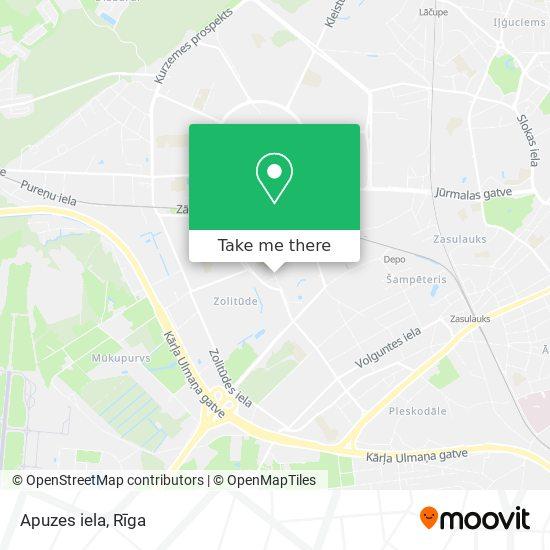Apuzes iela map