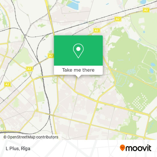 L Plus map