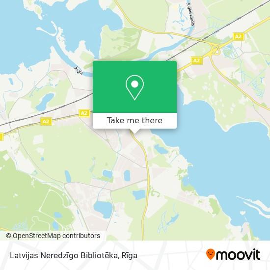 Latvijas Neredzīgo Bibliotēka map