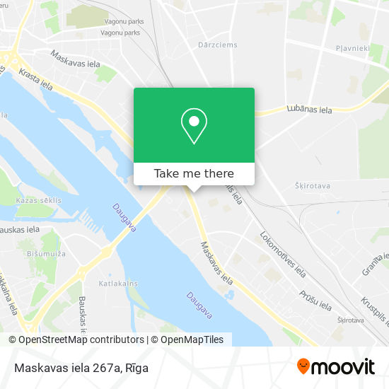 Maskavas iela 267a map