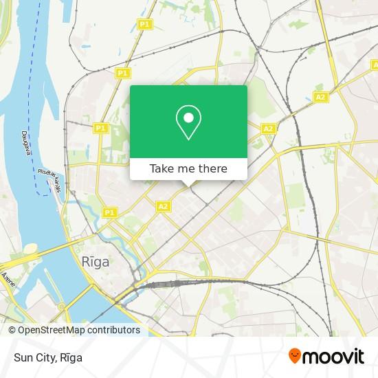 Sun City map