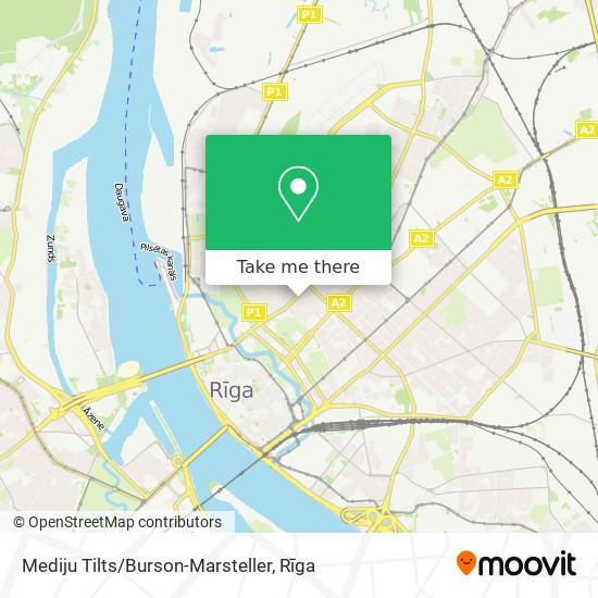 Mediju Tilts/Burson-Marsteller map