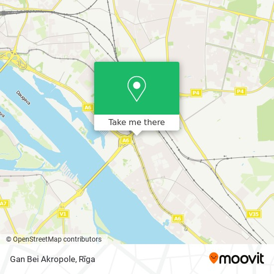 Gan Bei Akropole map