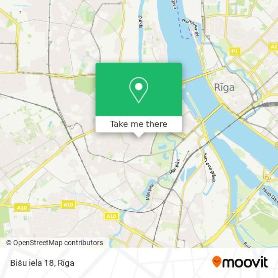 Bišu iela 18 map