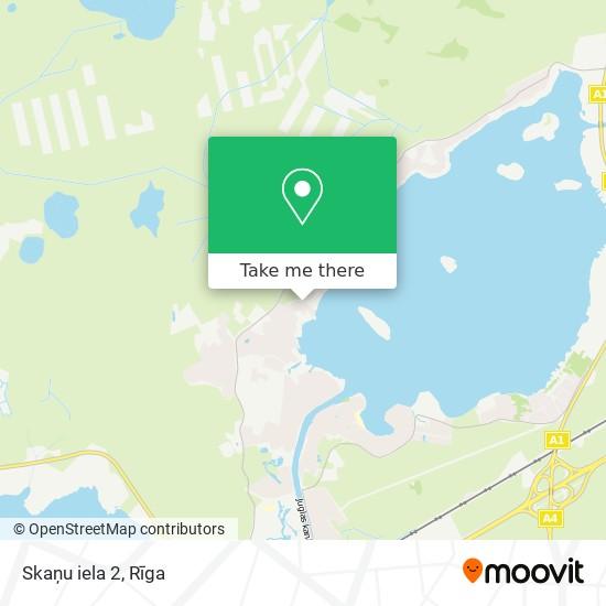Skaņu iela 2 map