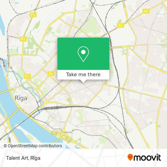 Talent Art map