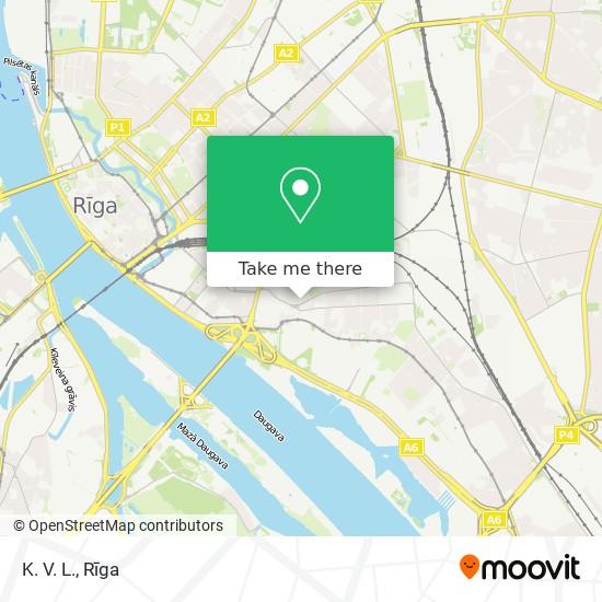 K. V. L. map