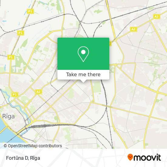 Fortūna D map
