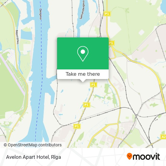 Avelon Apart Hotel map