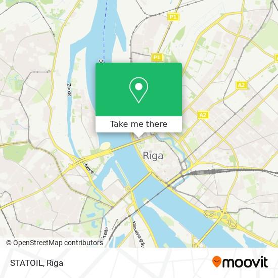STATOIL map