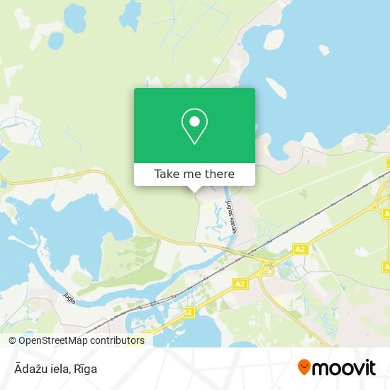Ādažu iela map