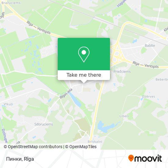 Пинки map