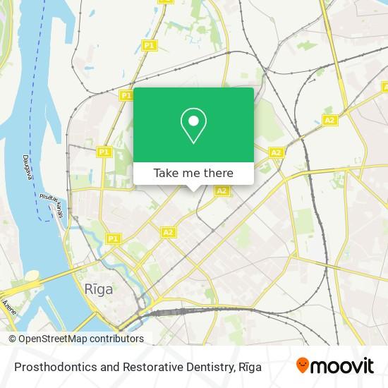 Prosthodontics and Restorative Dentistry map