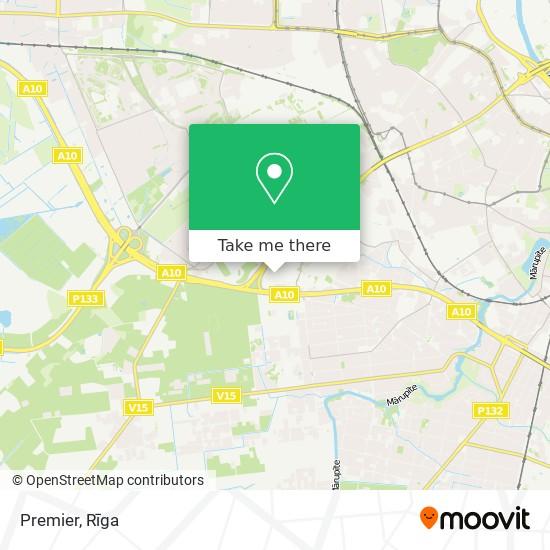 Premier map