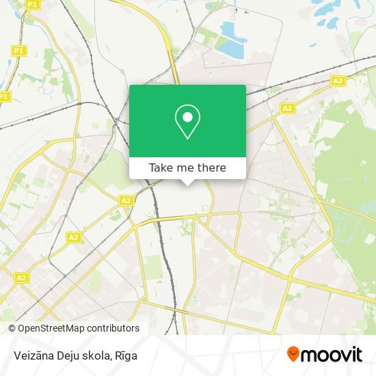 Veizāna Deju skola map