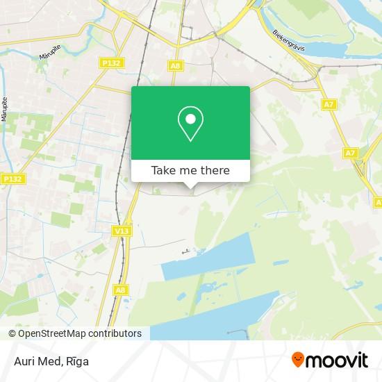 Auri Med map