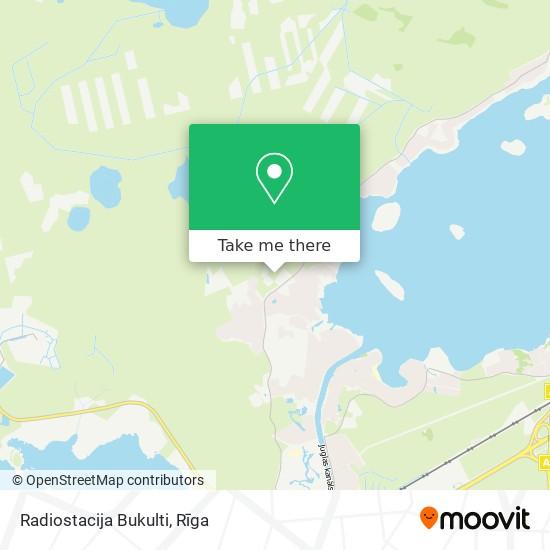 Radiostacija Bukulti map