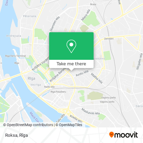 Roksa map