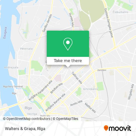 Walters & Grapa map