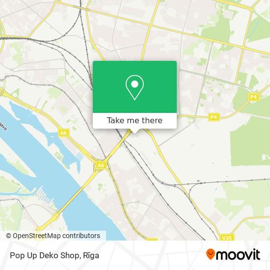 Pop Up Deko Shop map