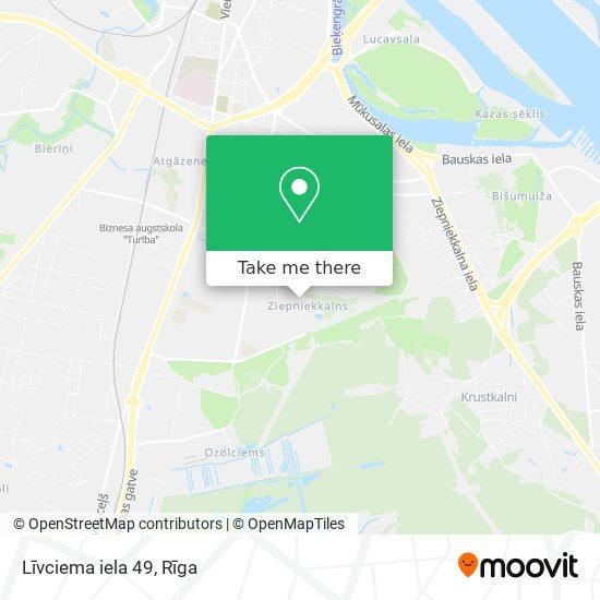 Līvciema iela 49 map