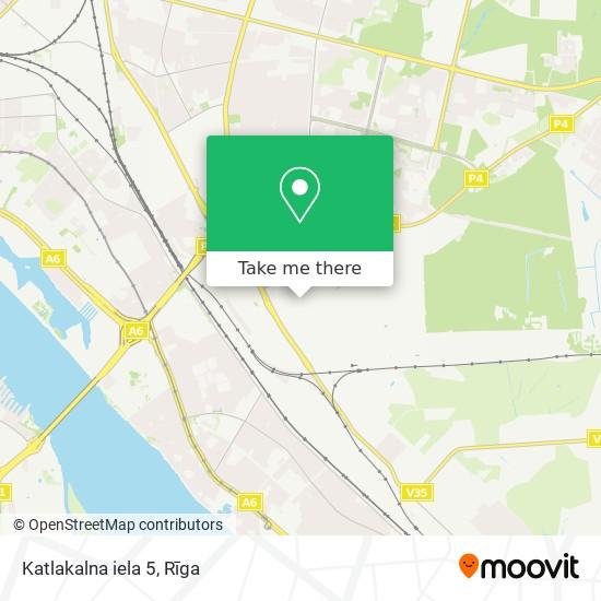 Katlakalna iela 5 map