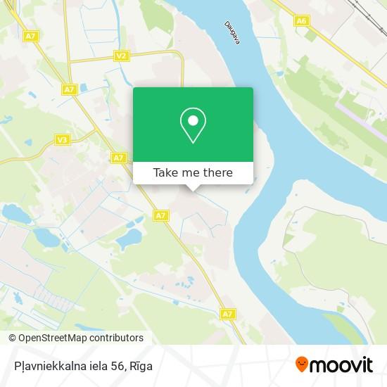 Pļavniekkalna iela 56 map